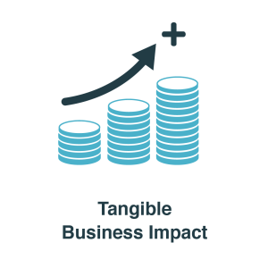 Tangible business impact